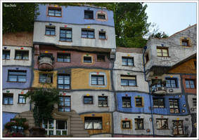 Hundertwasser House in Vienna by KlaraDrielle