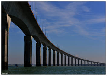 Isle of Re bridge by KlaraDrielle