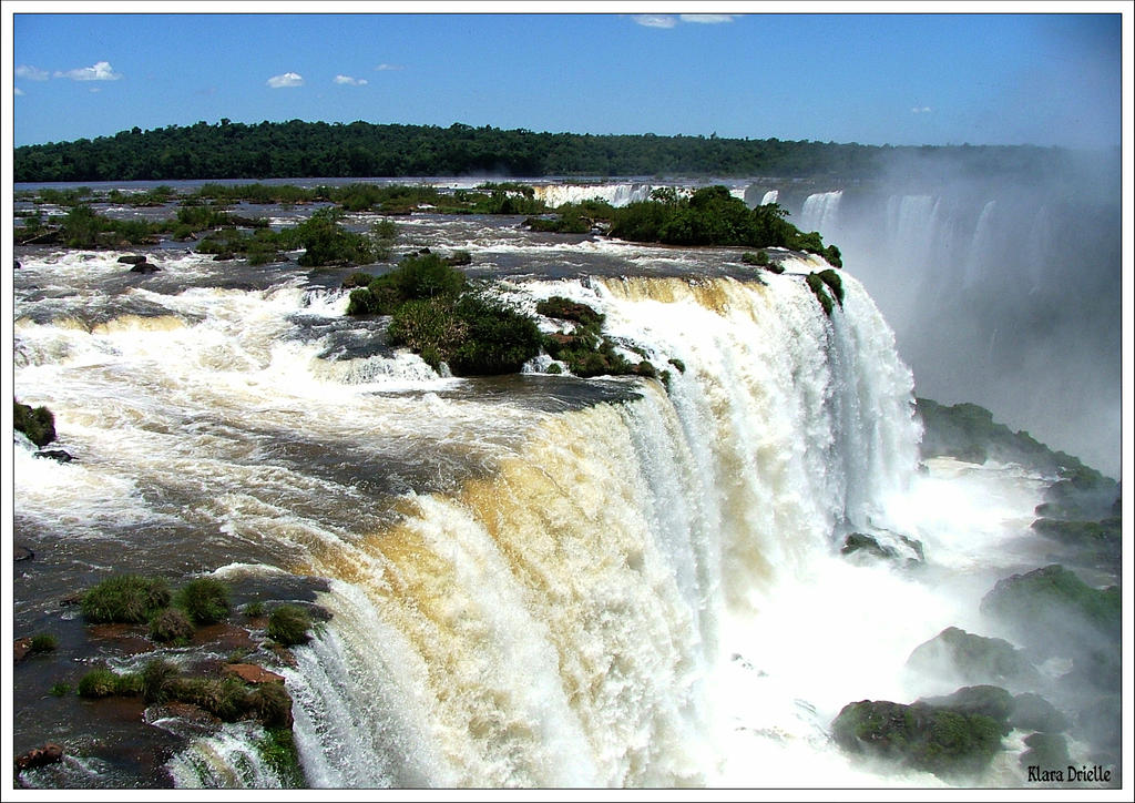 Iguassu falls by KlaraDrielle
