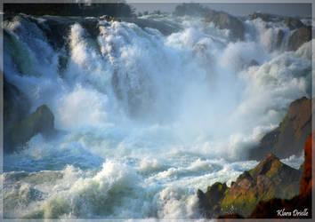 Khone Phapheng Falls by KlaraDrielle