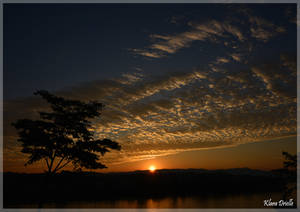 Sunrise on the Mekong by KlaraDrielle
