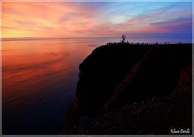 Cliff of North Cape by KlaraDrielle
