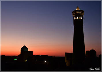 Bukhara by night by KlaraDrielle