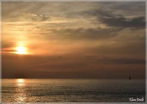 Sunset time by KlaraDrielle