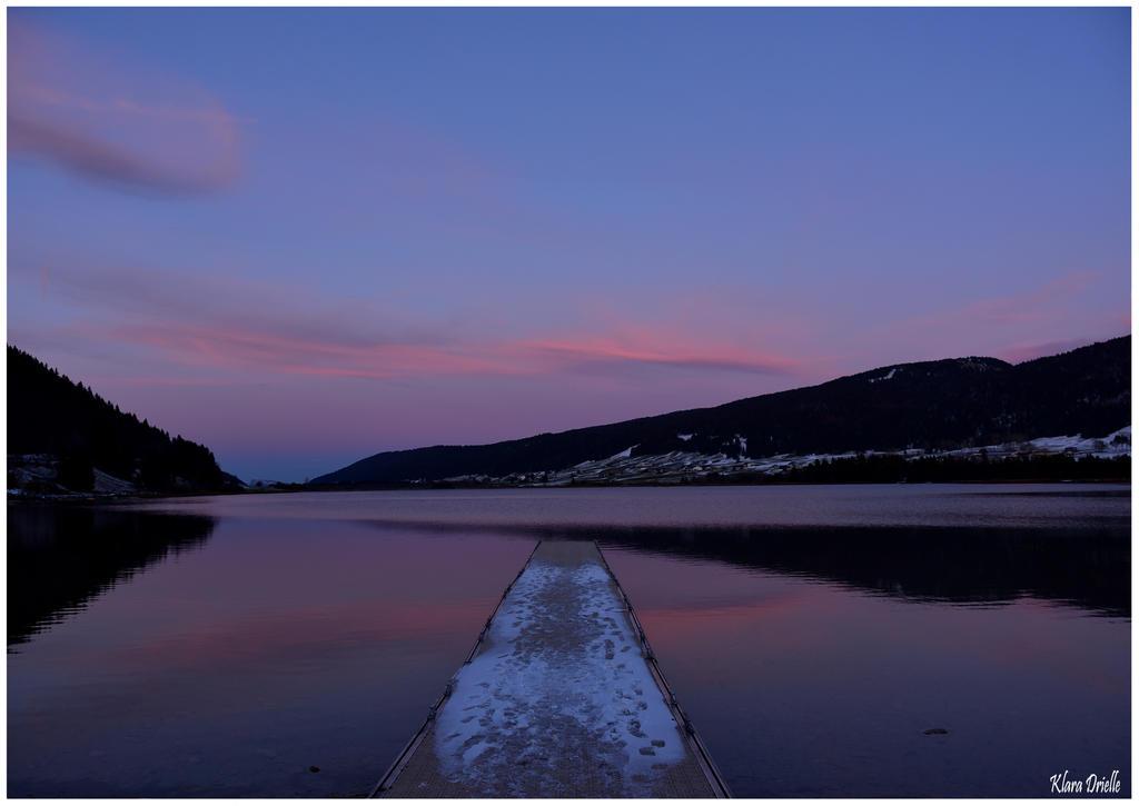 Le lac des Rousses by KlaraDrielle