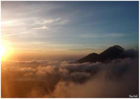 Sunrise in Bali by KlaraDrielle