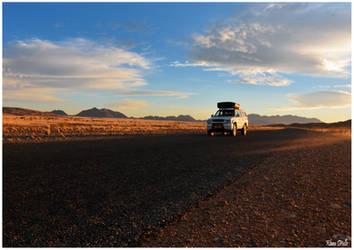 On the road by KlaraDrielle