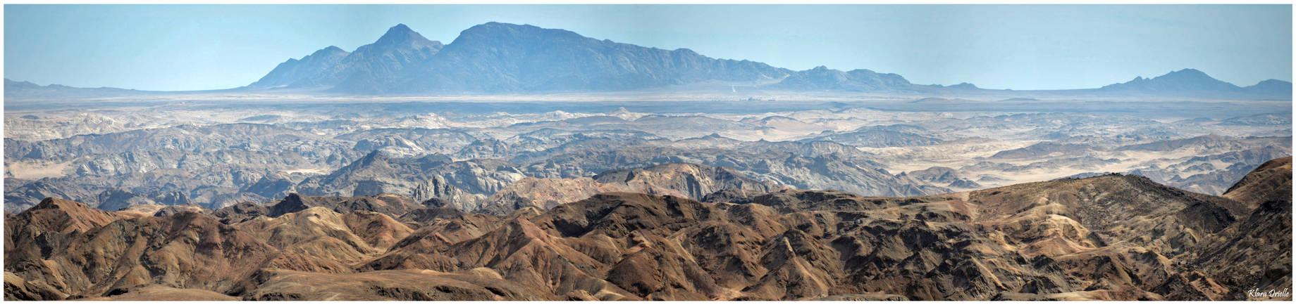 Swakop river valley