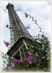 Eiffel tower by KlaraDrielle