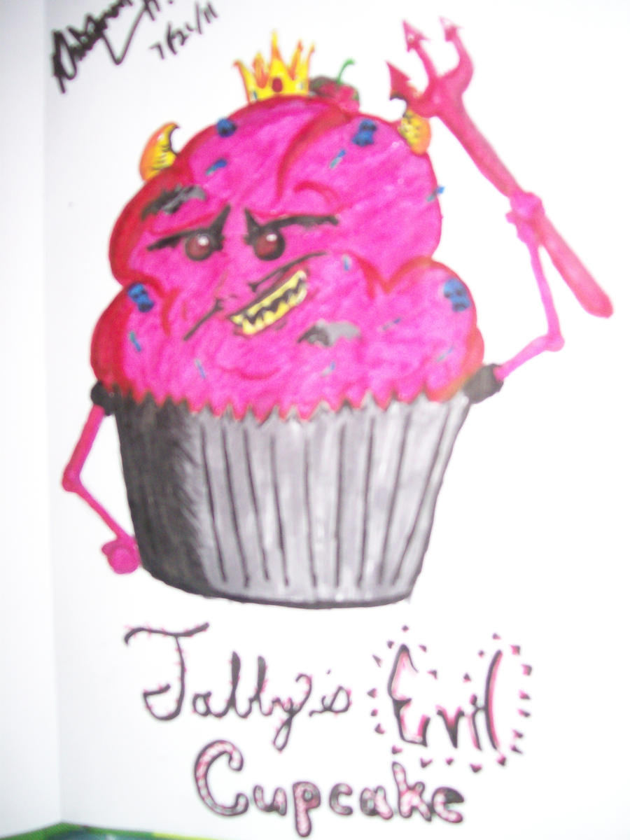 Evil Cupcake by PajamaNaruto on DeviantArt