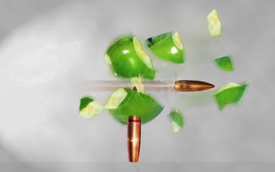 Bullet in Motion by AbhishekGhosh