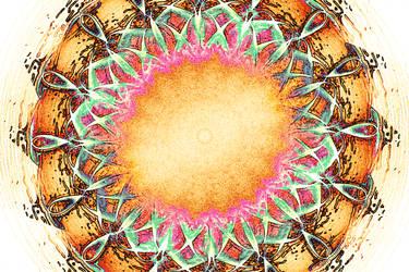 Abstract Flower by AbhishekGhosh
