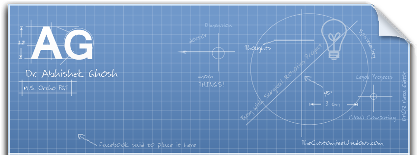 Blueprint facebook timeline cover by abhishekghosh on for Under wraps blueprint covers