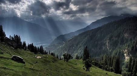 Upper Shimla by AbhishekGhosh