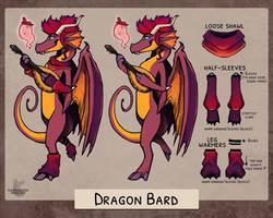 [G] Dragon Bard Reference Sheet