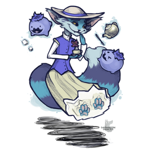 [G] Teatime Kitty Parasplicer