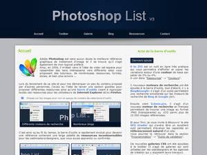 Photoshop List