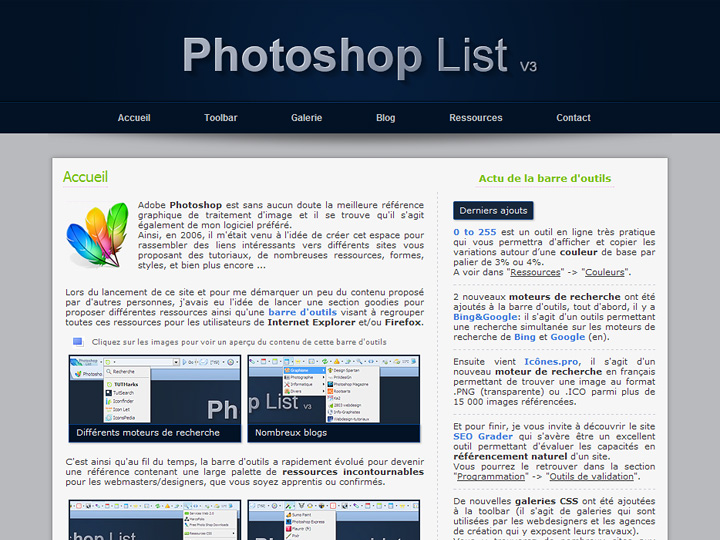 Photoshop List