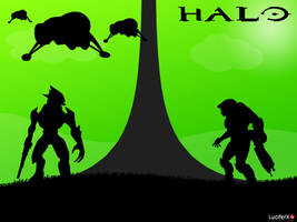 Wallpaper Halo by Lucifer4671