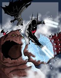 When Bats Collide by DarkstreamStudios