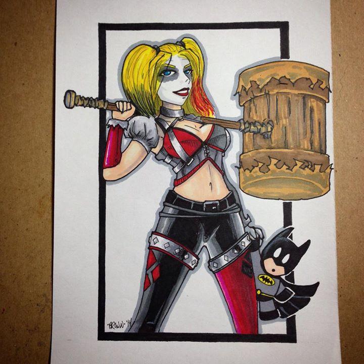 Miss Harley Quinn by DarkstreamStudios