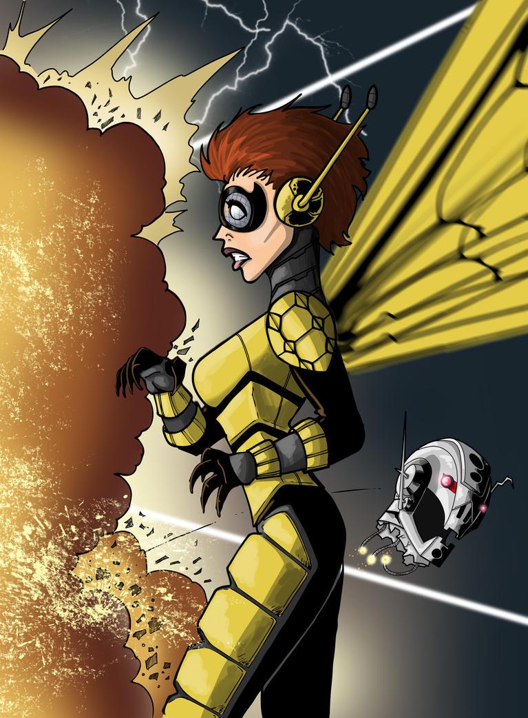 Wasp by DarkstreamStudios