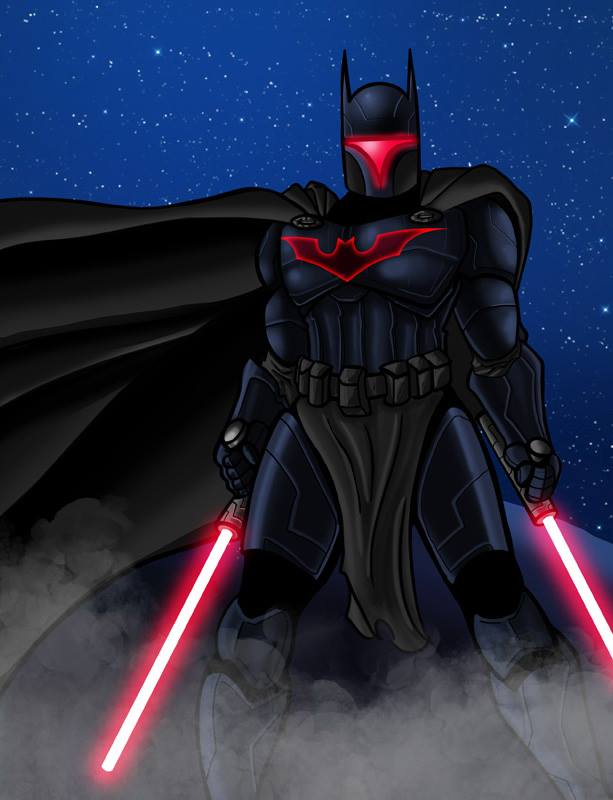Darth Wayne revisited by DarkstreamStudios