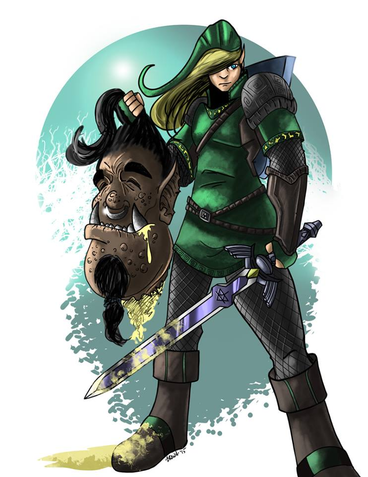 Link Grown Up by DarkstreamStudios