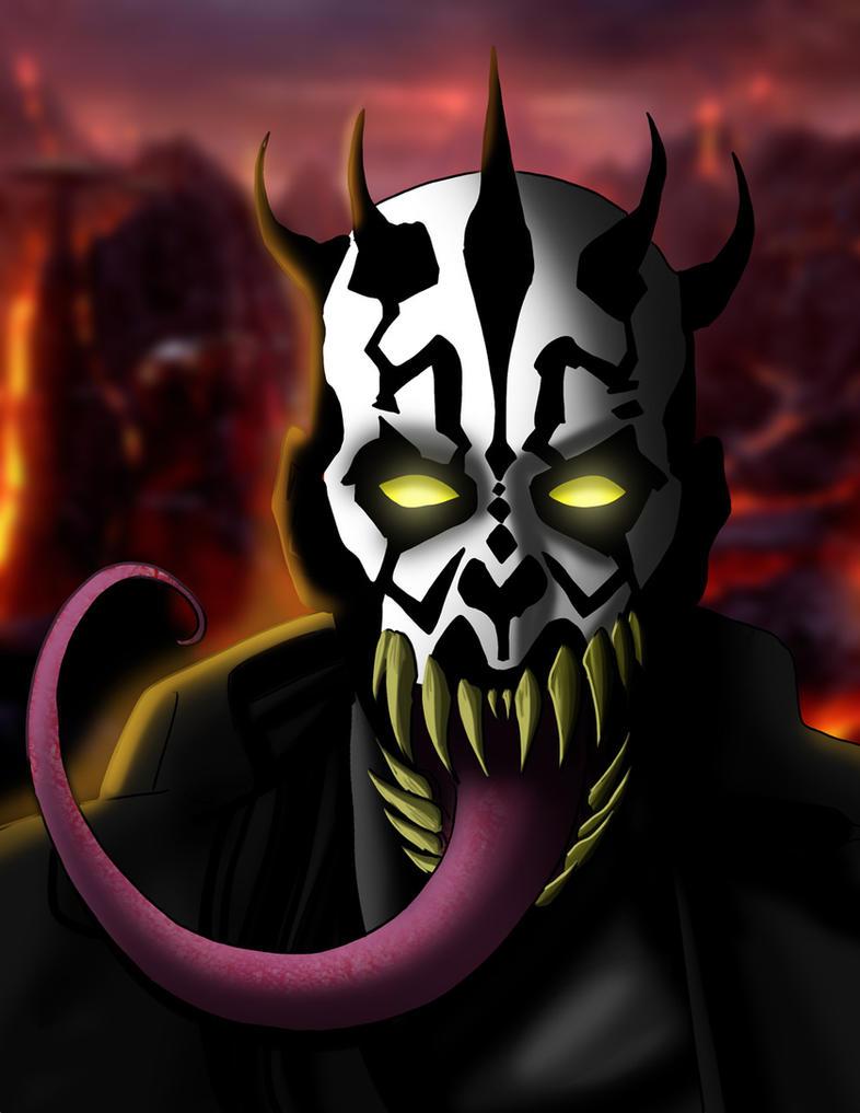 Darth Maul-Venom by DarkstreamStudios