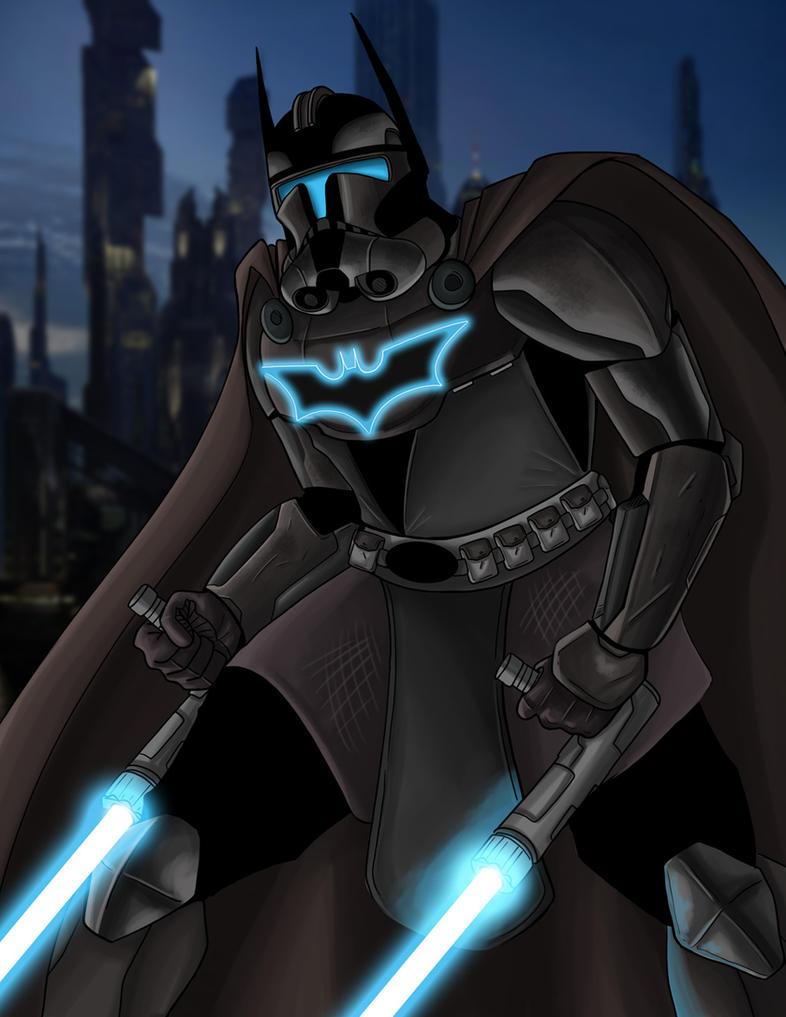 Bat Jedi by DarkstreamStudios