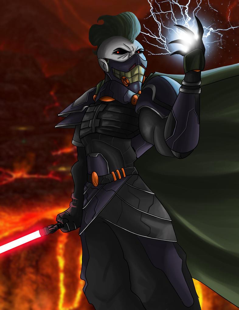 Joker Sith by DarkstreamStudios