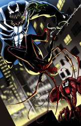 Superior Spider-Man vs Symbiotes