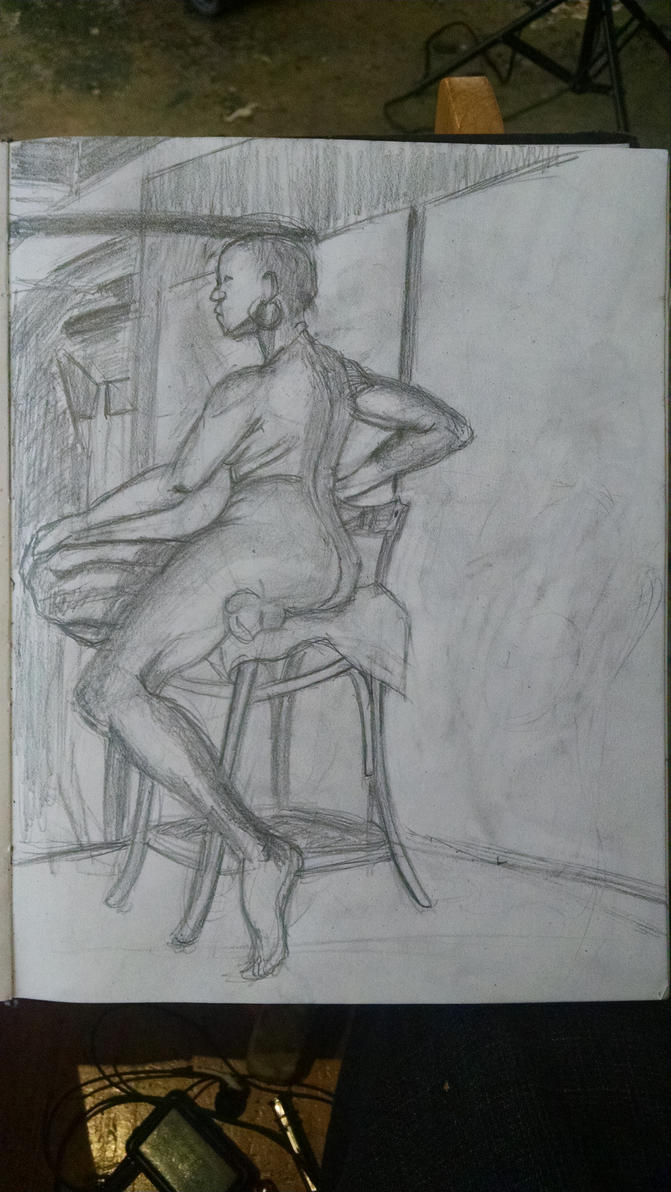 figure drawing 1h 15m by synnworld
