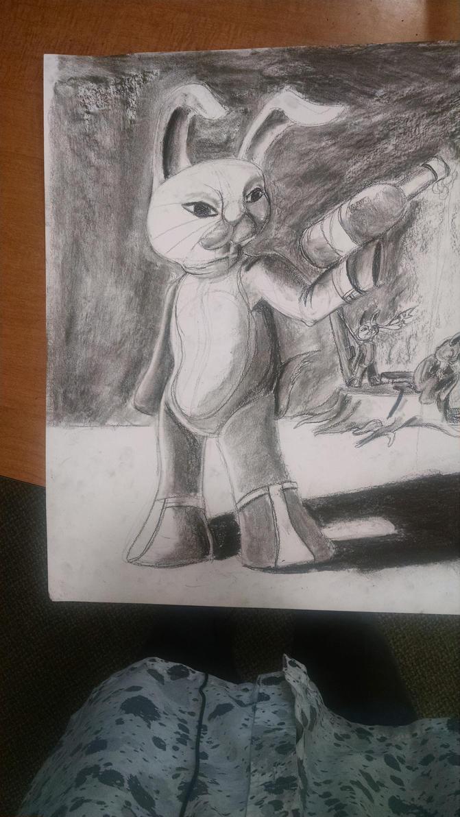 Bunny brigade WIP 2 by synnworld