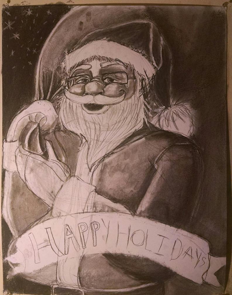 Happy holidays wip by synnworld