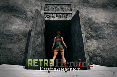 The Retro Heroine Environment by FredelsStuff