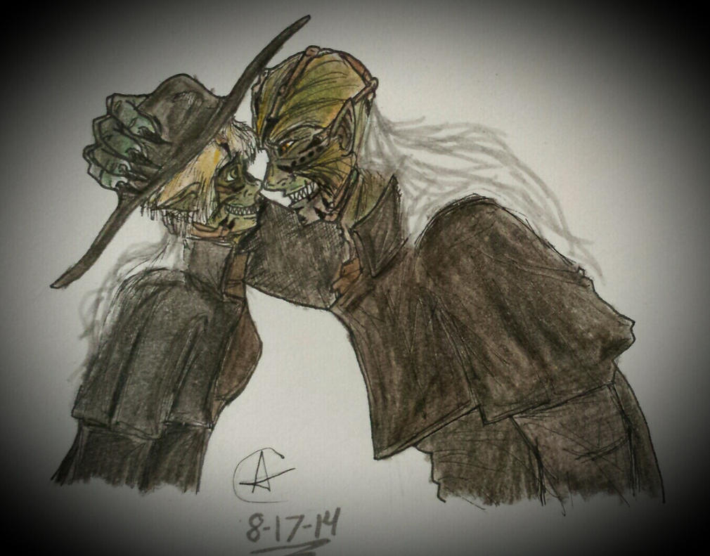 Myself and Jeepers Creepers by ObscurusVII