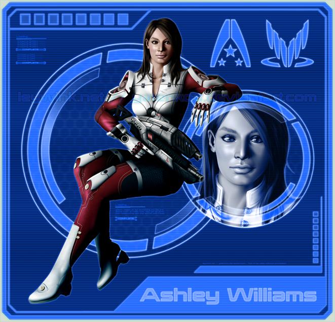 Ashley Williams by LeyWink