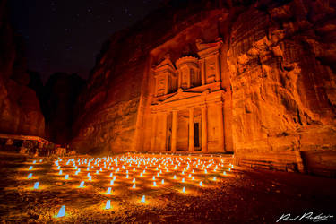 Petra by Night by paulmp