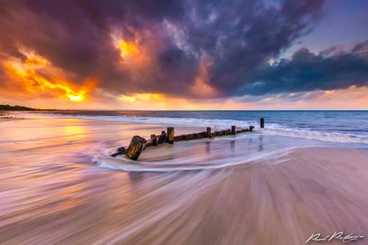 Sunset over Geographe Bay
