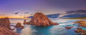 Sugar Loaf Rock at sunset