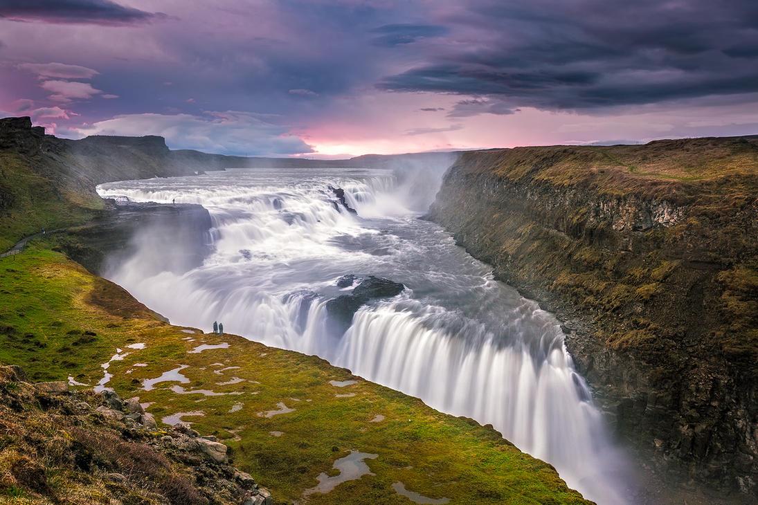 Gullfoss, Iceland by paulmp
