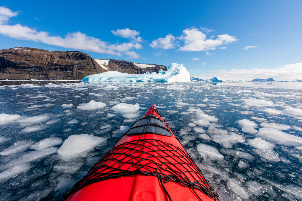 Antarctic Kayaking by paulmp