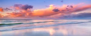 Abbey Beach Sunset by paulmp