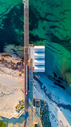 Busselton Jetty from Above