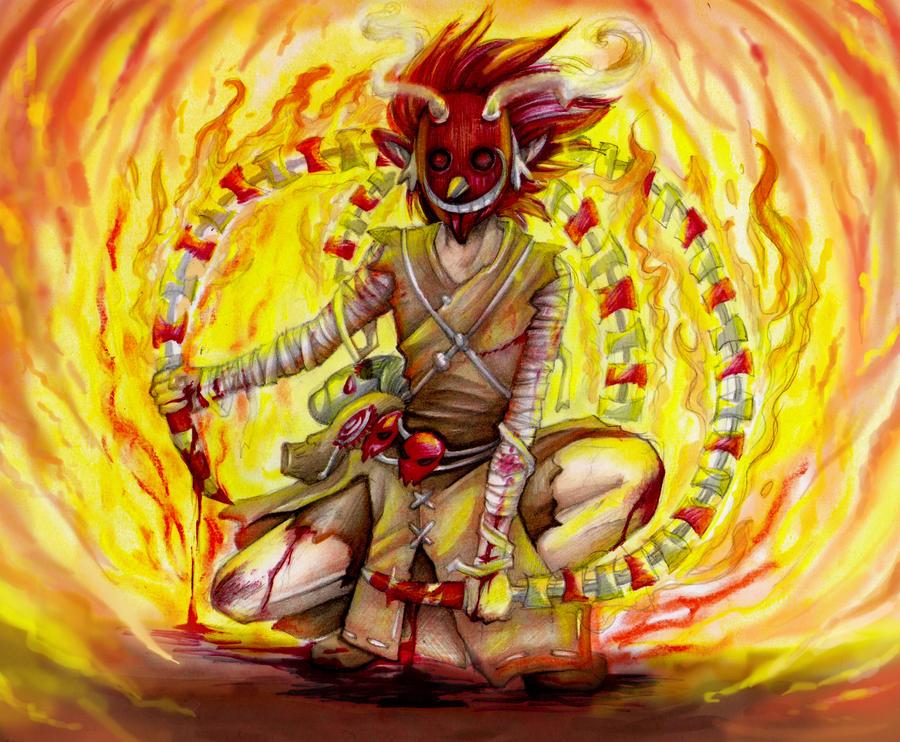 Takie tam w ogniu by RoyalThebat