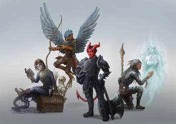 RPG session heroes!