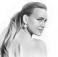 Irina-shayk- by frankartnumerique