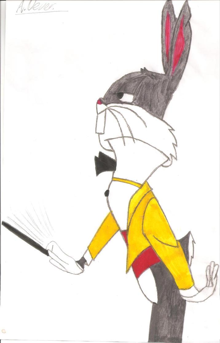 Baton Bunny by WarnerFan14