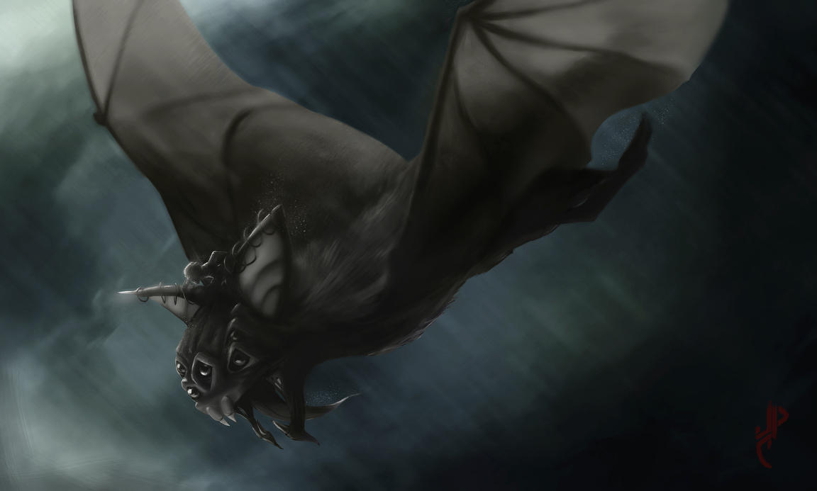 Boy And Bat by JulianCorpuz